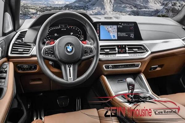 مميزات إضافية للترفيه والأمان في BMW x6