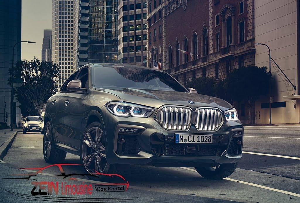 إيجار سيارات BMW x6
