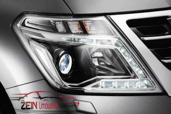 الإضاءة في سيارة نيسان باترول