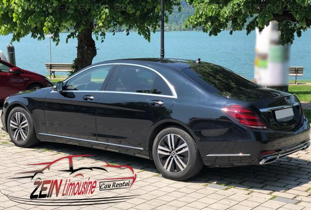 إيجار سيارات مرسيدس S400